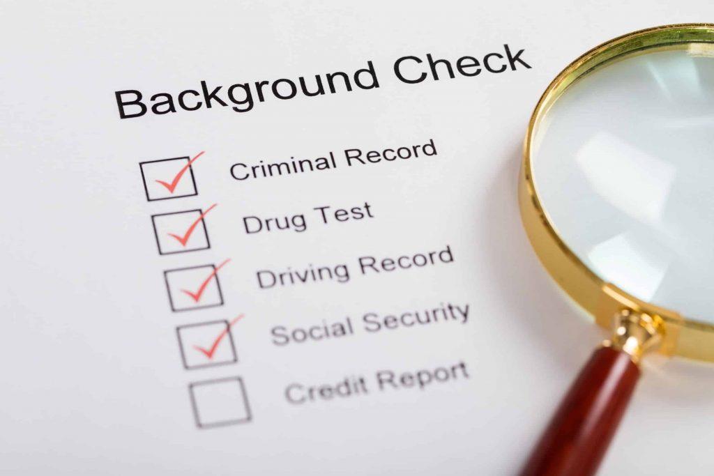 back ground check